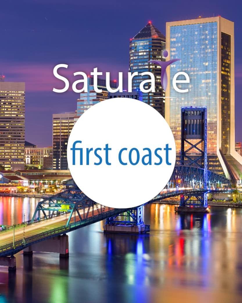Saturate First Coast Header
